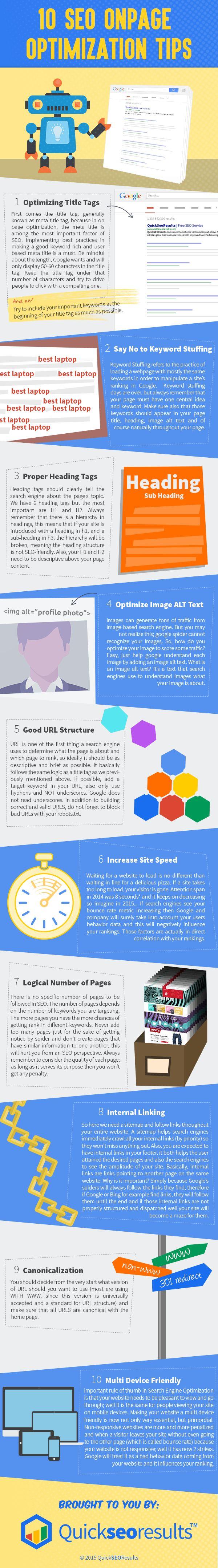 10-seo-onpage-optimization-tips-infographic