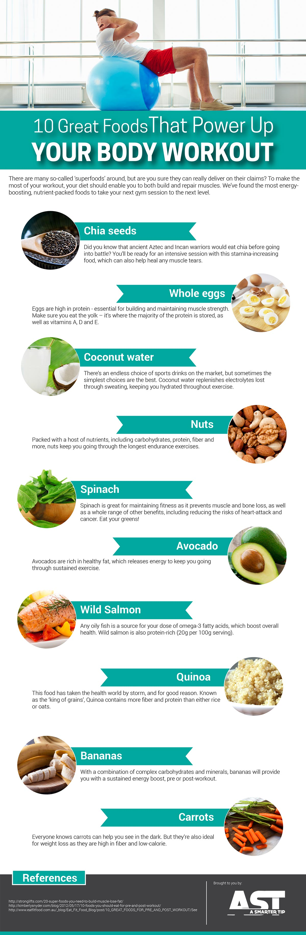 energy boosting foods for exercise