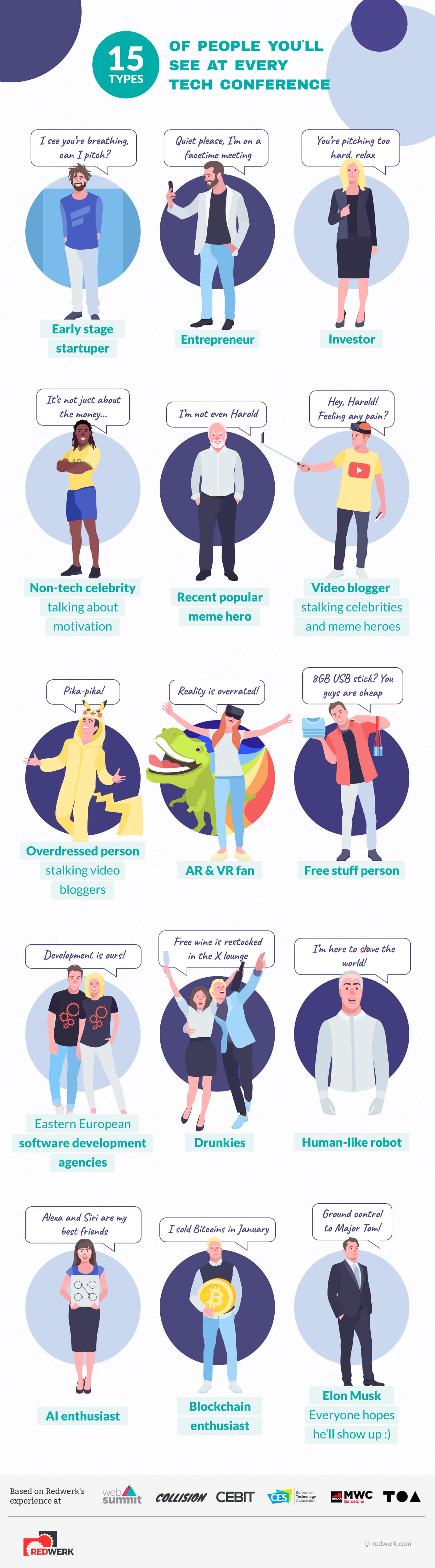 15-types-of-people-on-tech-conferences-infographic-plaza