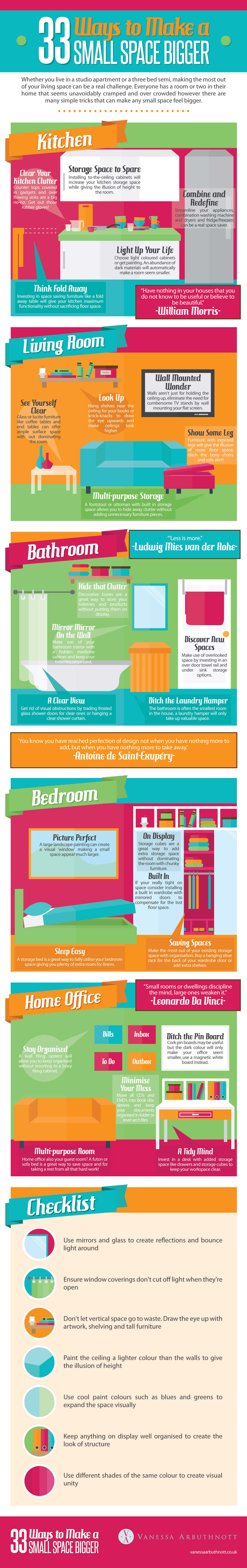 33-ways-to-make-a-small-space-feel-bigger-infographic