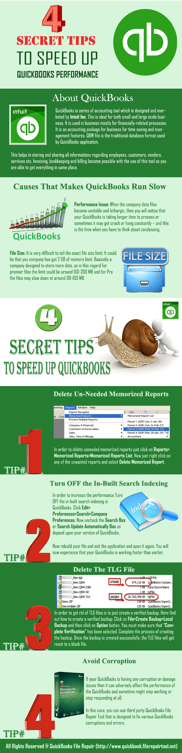 4-Secret-Tips-to-Speed-Up-QuickBooks-Performance-infographic-plaza