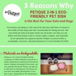 5 Reasons why Petique 2-in-1 Pet Dish is Safer for your Pets-infographic-plaza
