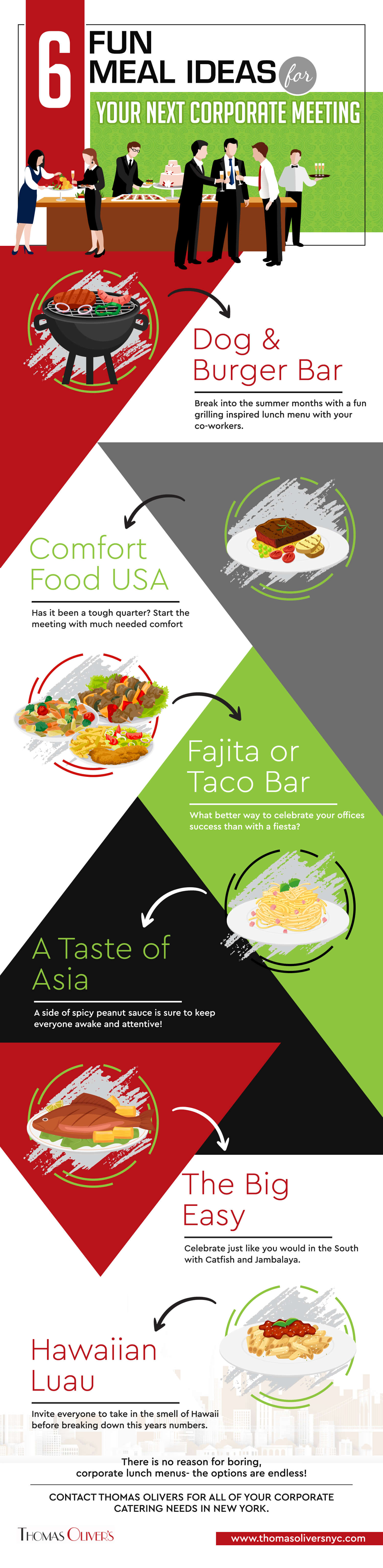 6-Fun-Meal-Ideas-for-Your-Next-Corporate-Meeting-infographic-plaza