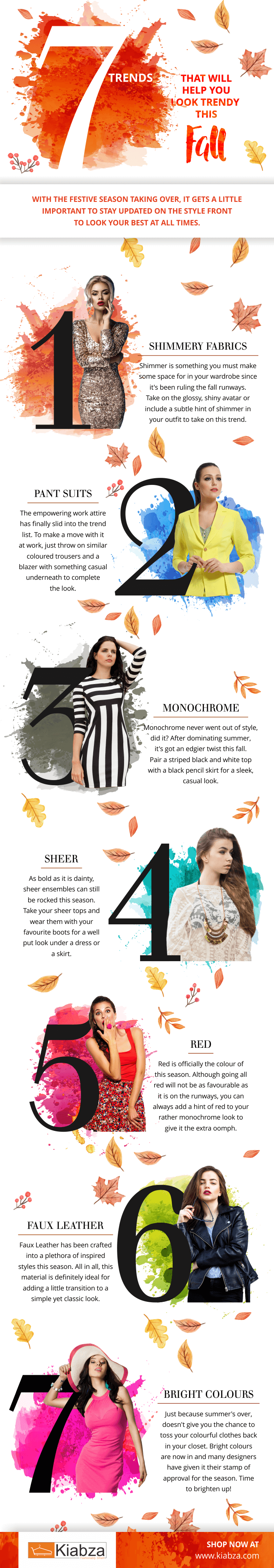 7 Trends to Look Trendy this Fall
