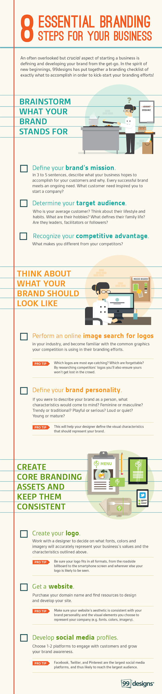 8-Essential-Branding-Steps-for-your-Business-infographic-plaza