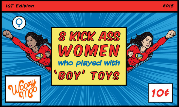 8 Kick Ass Women Who Played with 'Boy' Toys thumb