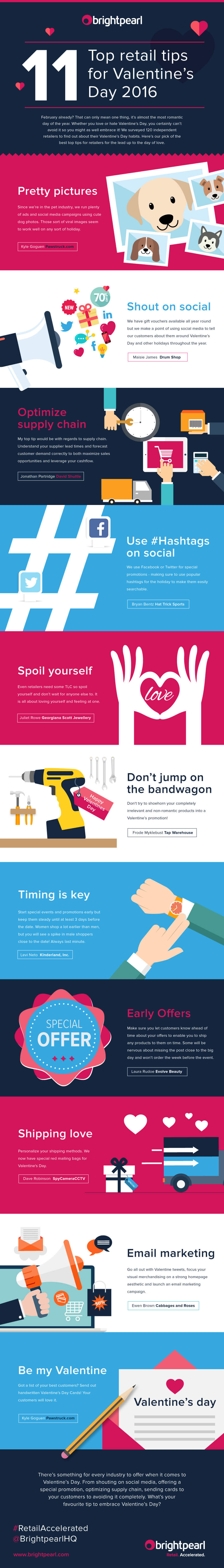 11 Top Retail Tips for Valentine's Day