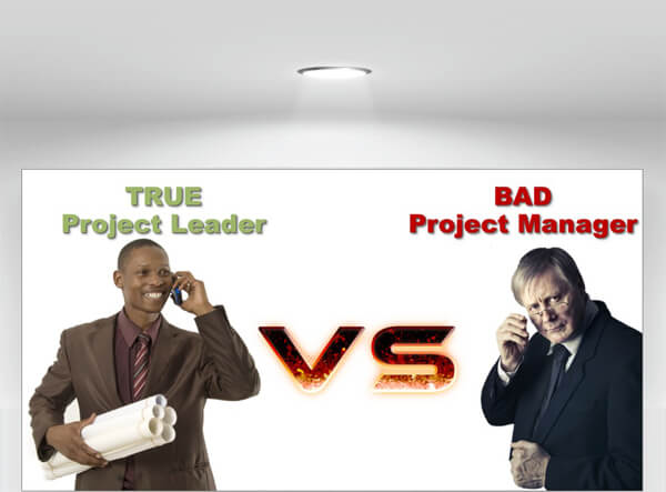True Project Leader or Bad Project Manager? [INFOGRAPHIC]