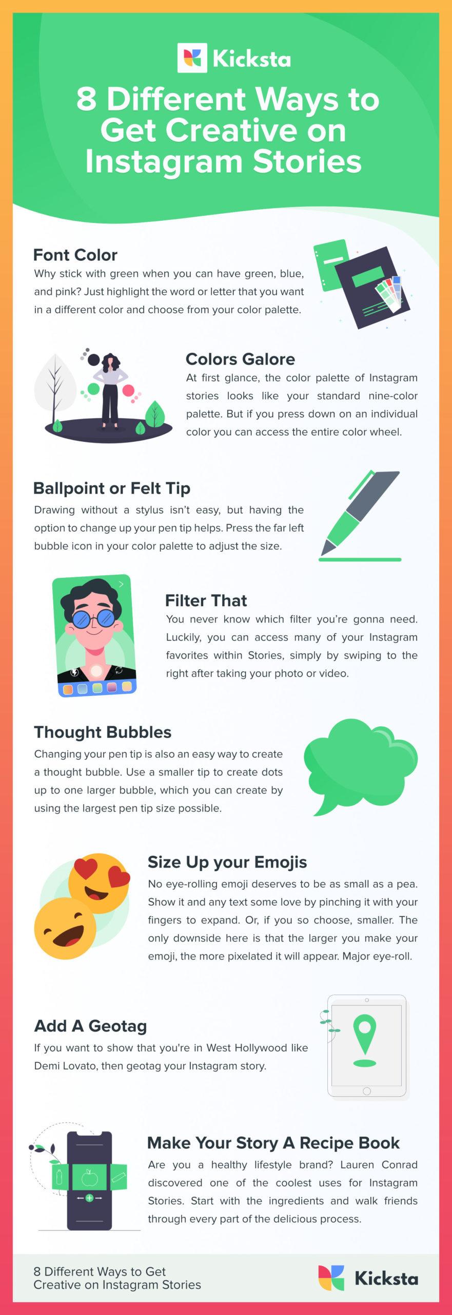 Creative-Instagram-Stories-infographic-plaza