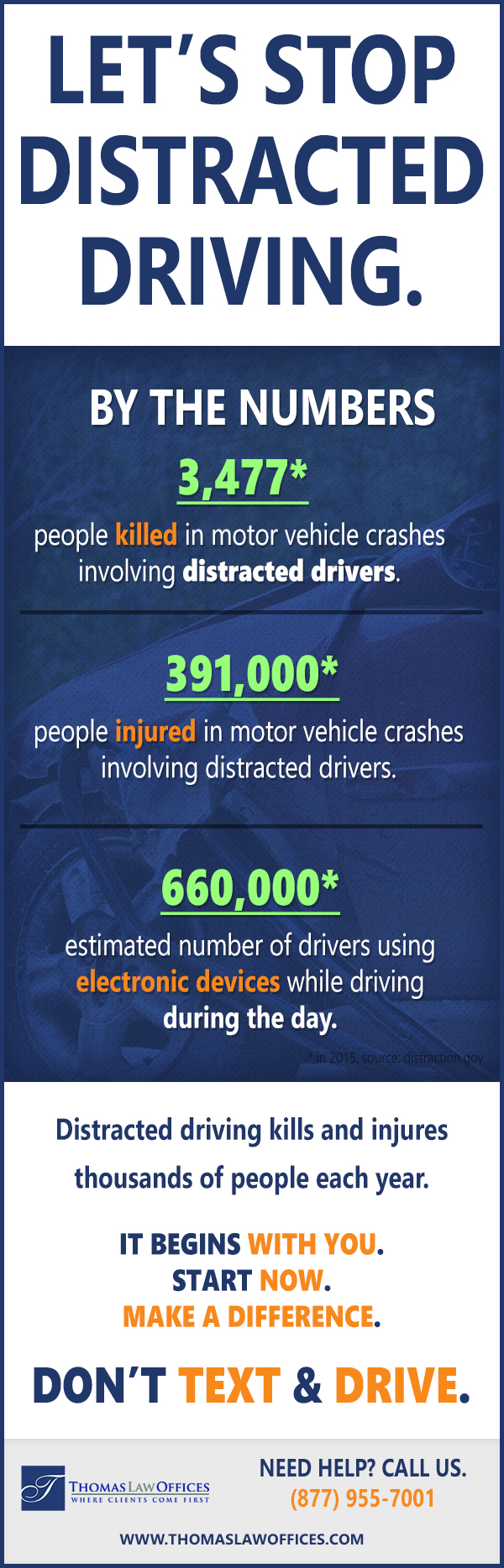 Ending-Distracted-Driving-Stops-With-Us-infographic-plaza