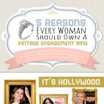 Five Reasons Every Woman Should Own a Vintage Engagement Ring-infographic