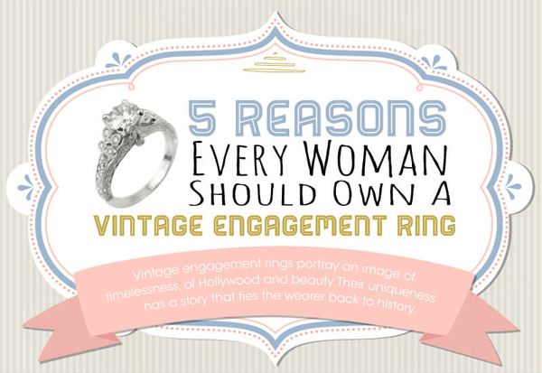 Five Reasons Every Woman Should Own a Vintage Engagement Ring-thumb