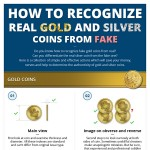 How-To-Recognize-RealGold-And-Silver-Coins-From-Fake-infographic-plaza