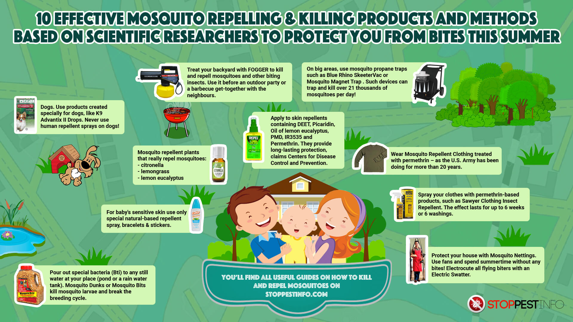 how-to-get-rid-of-mosquitoes-infographic-plaza