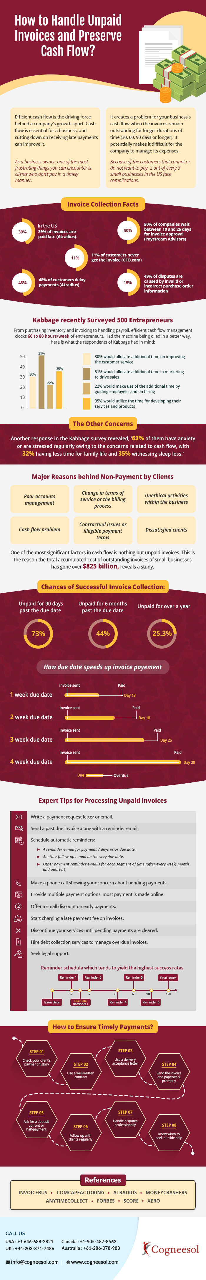 How-to-Handle-Unpaid-Invoices-and-Preserve-Cash-Flow-infographic-plaza