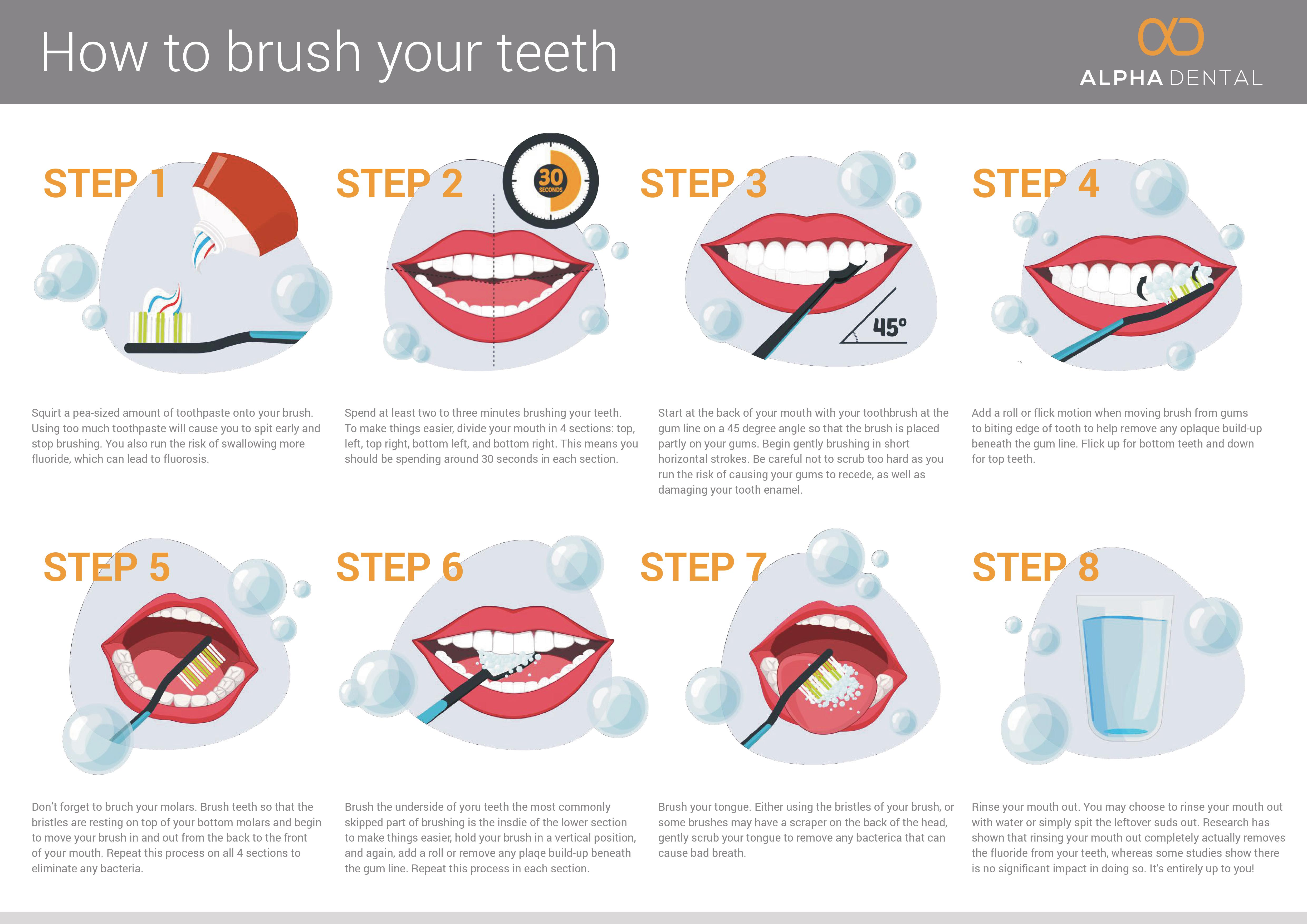 How-to-brush-your-teeth-infographic-by-Alpha-Dental-Perth-infographic-plaza