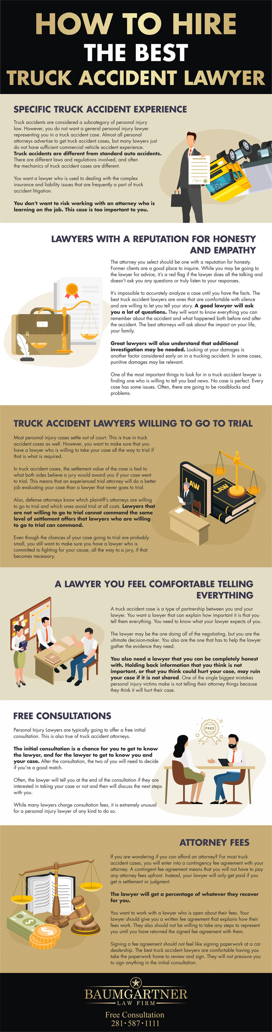 How-to-hire-the-best-truck-accident-lawyer-infographic-plaza