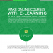 Make-Online-Courses-with-E-Learning-Platform-infographic-plaza