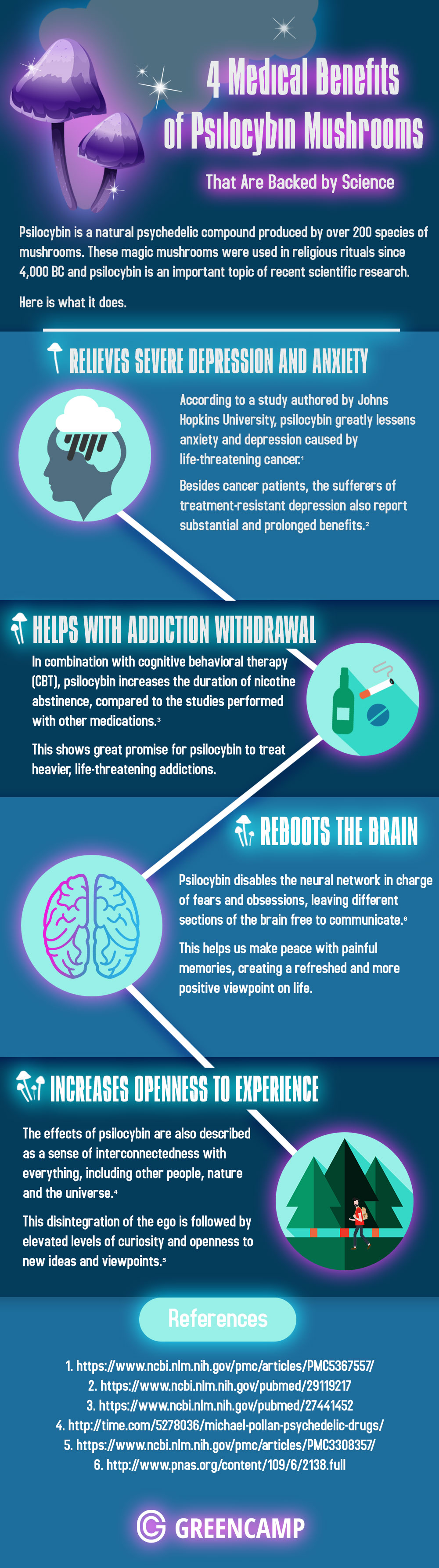 Psilocybin-mushrooms-medical-benefits-infographic-plaza