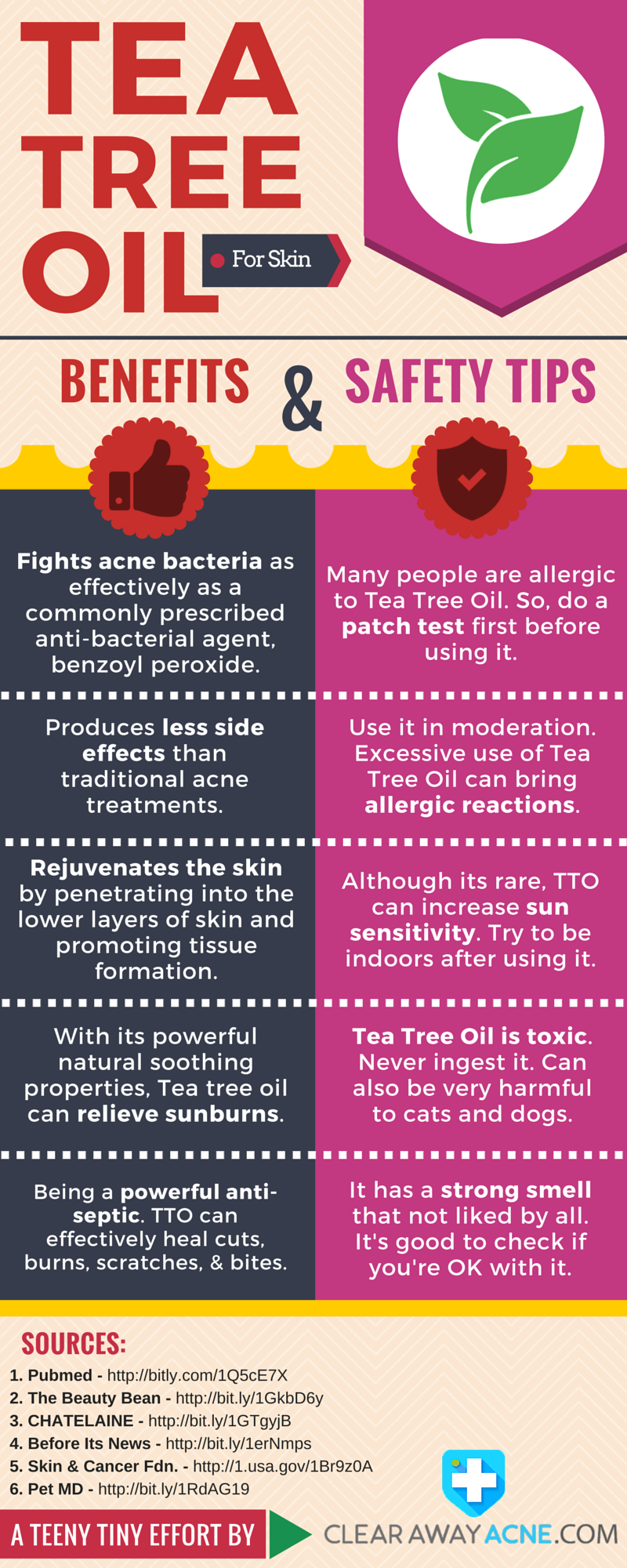 Tea-Tree-Oil-For-Acne-and-Skin-Care-Benefits-and-Safety-Tips-infographic