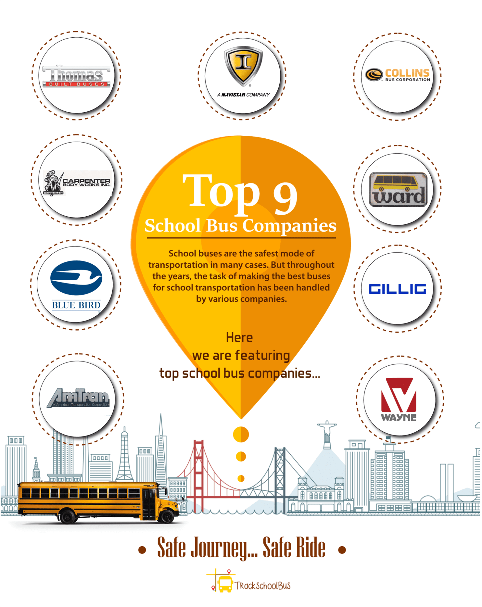 Top 9 School Bus Companies You Need to Know
