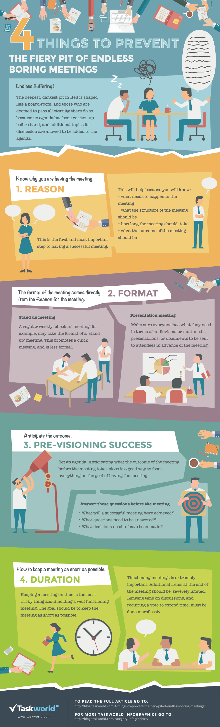 4 Things To Prevent The Fiery Pit of Endless Boring Meetings