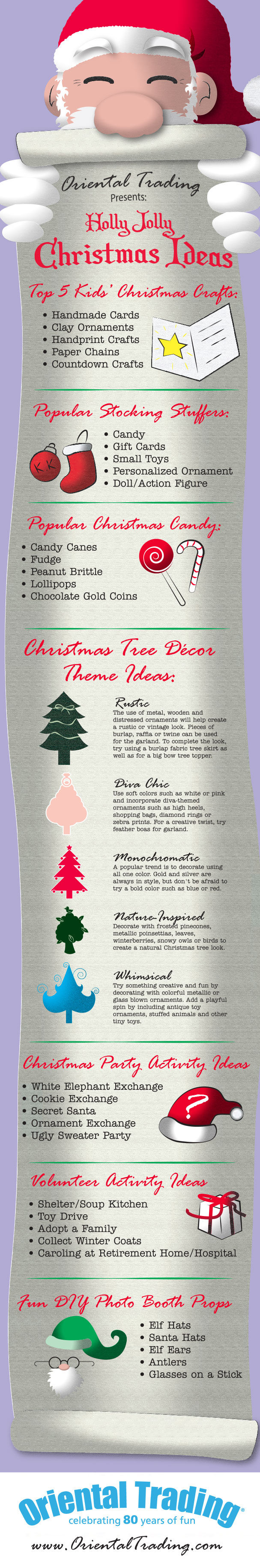 Popular Christmas Trends and Party Ideas