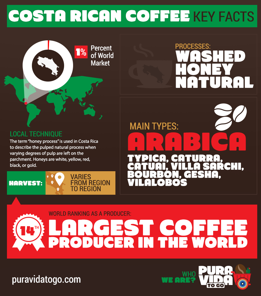 Costa Rican Coffee Key Facts
