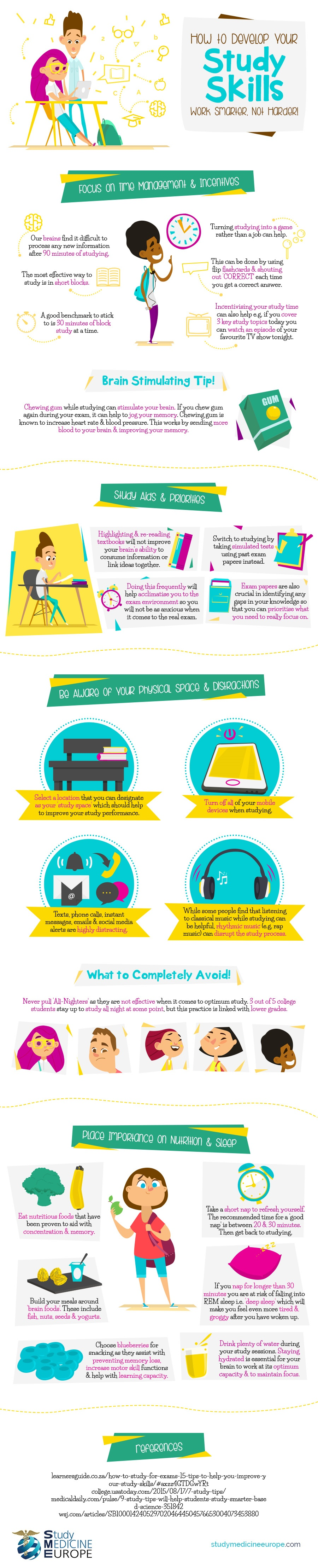 how-to-develop-your-study-skills--work-smarter-not-harder-infographic-plaza