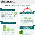 how-to-improve-cibil-score-infographic-plaza