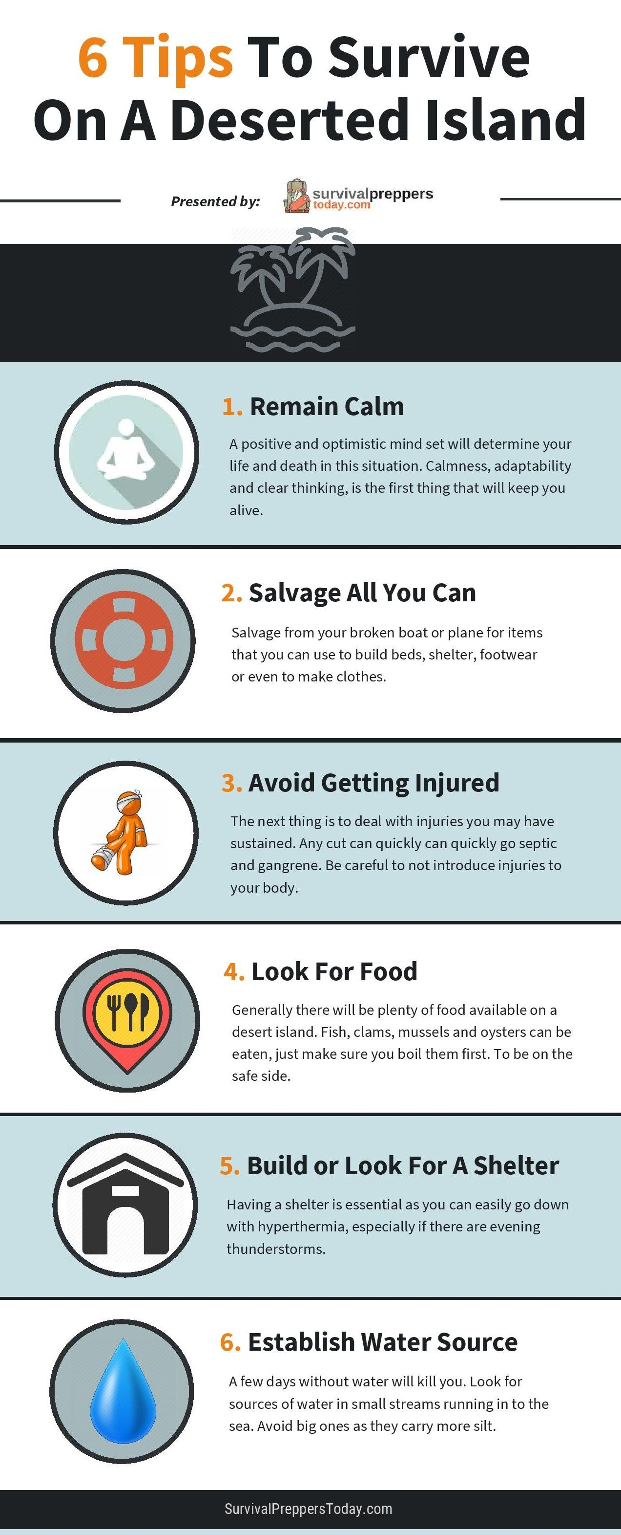 how-to-survive-on-an-island-infographic-plaza