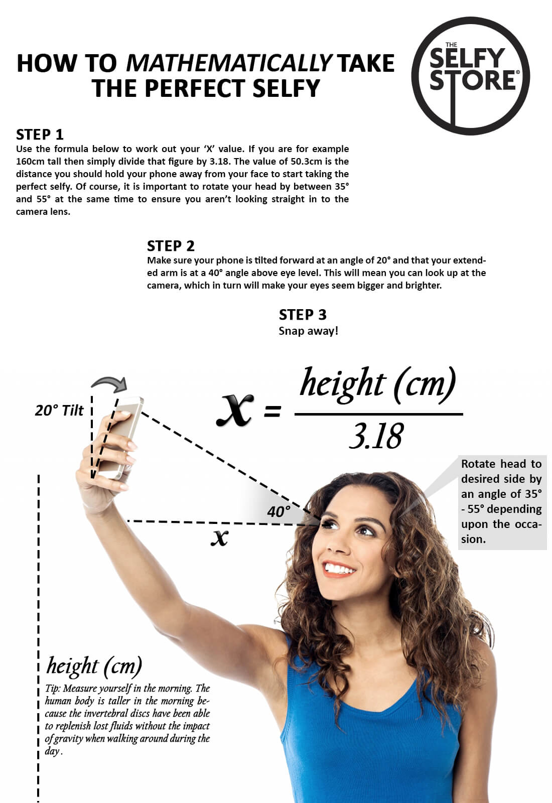 How to Mathematically Take the Perfect Selfie