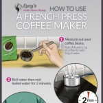 how-to-use-french-press-coffee-maker-infographic-plaza