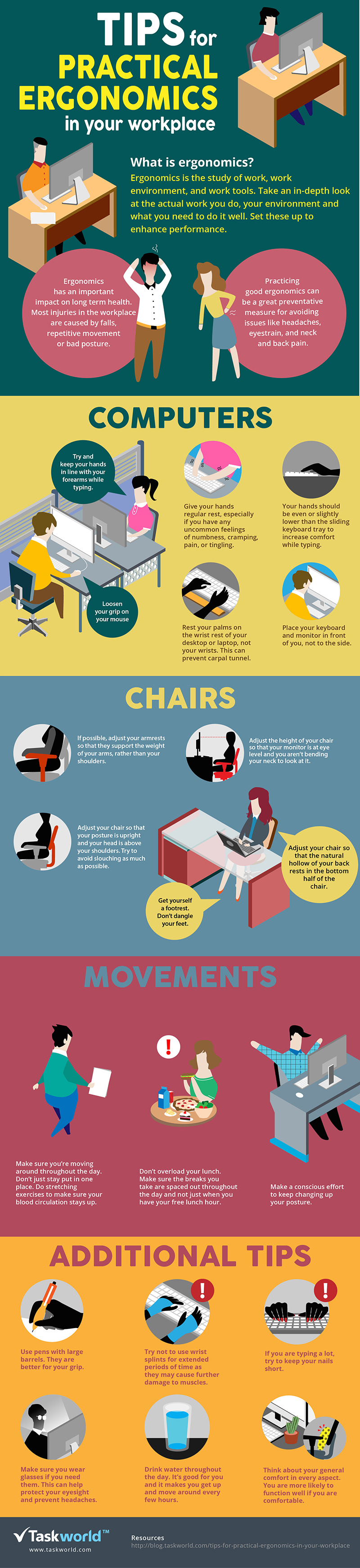 Practical Tips for Ergonomics in the Workplace