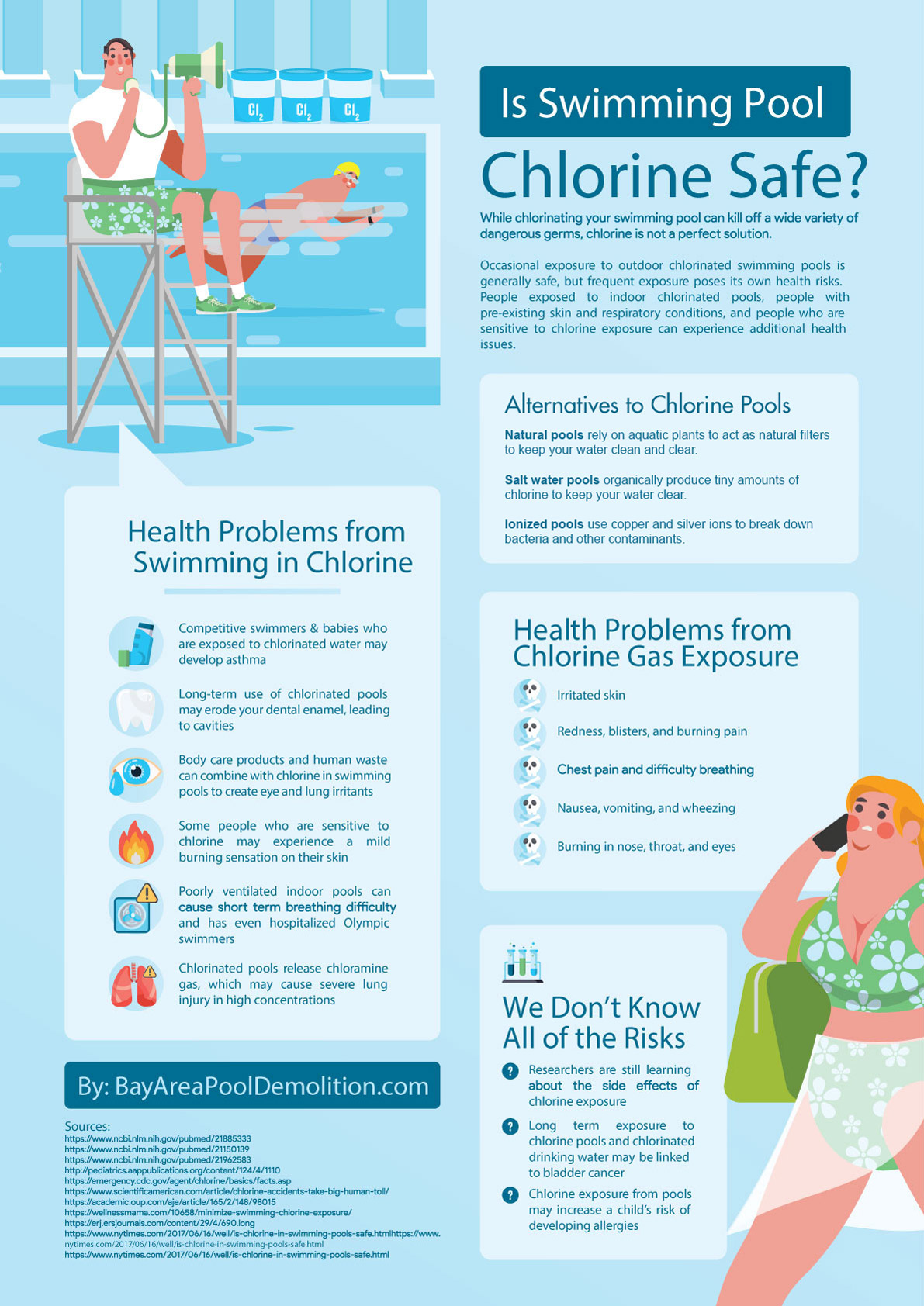 is-swimming-pool-chlorine-safe-infographic-plaza