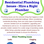 residential-plumbing-issues--hire-a-right-plumber-infographic-plaza