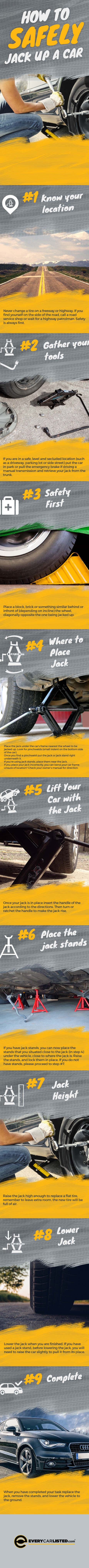 How To Safely Jack Up Your Car
