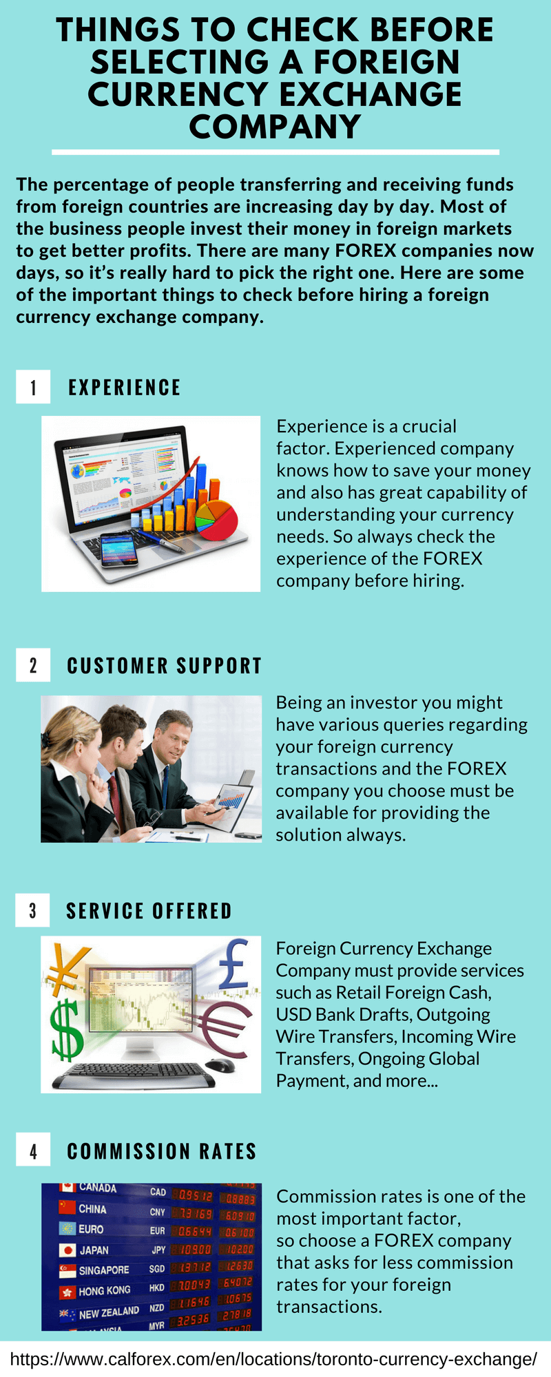 Things to Check before Selecting a Foreign Currency Exchange Company