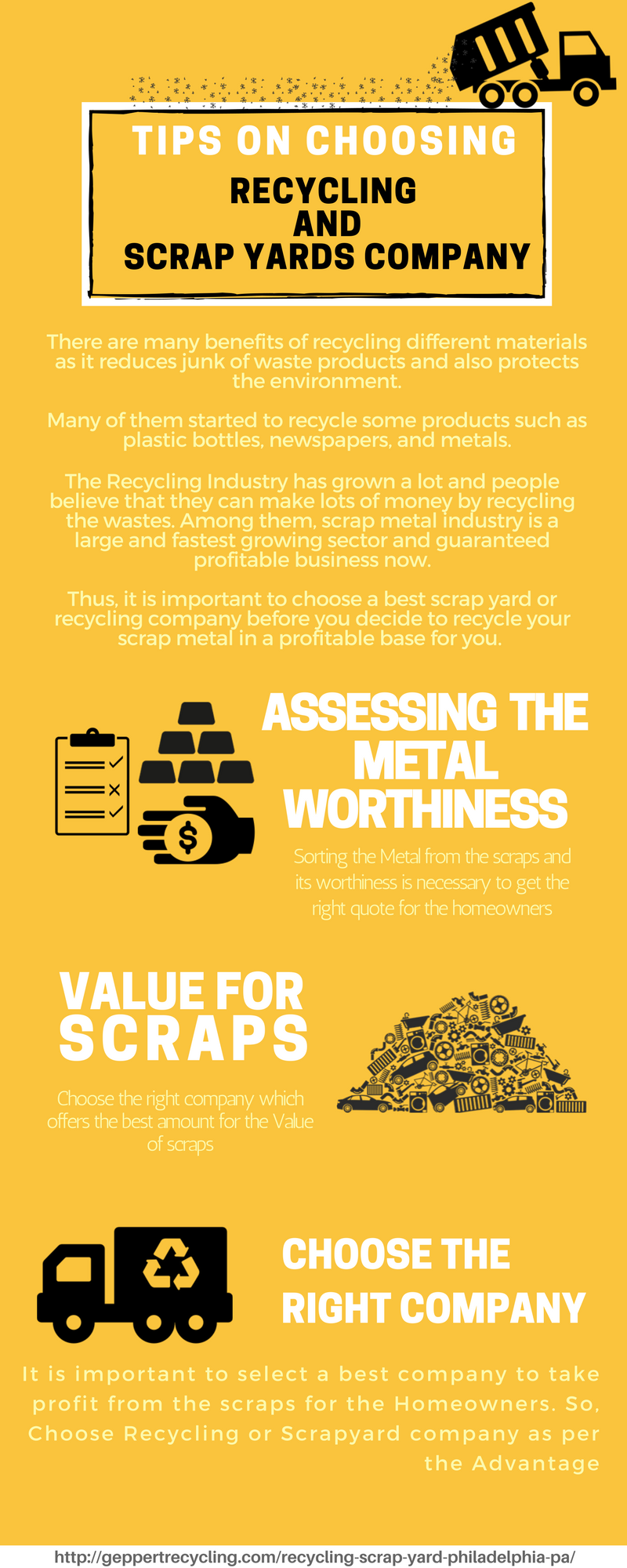 Tips on Choosing Recycling and Scrap Yard Company