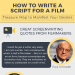 tips-on-how-to-write-a-script-for-a-film-infographic-plaza