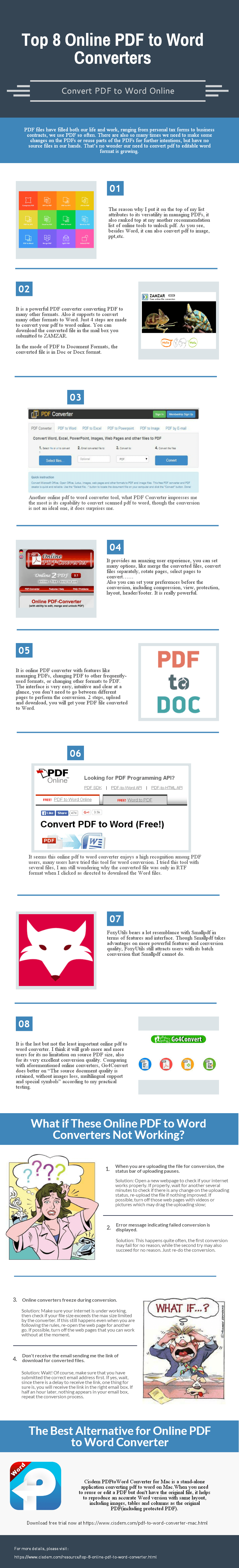 Top 8 Online Pdf to Word Converters