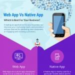 web-native-app-infographic-plaza